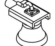 модель Athearn ATH01092 Bell, Hood Side Mount. 3 шт.