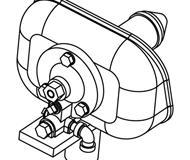 модель Athearn ATH01324 Hancock Air Whistle с Refector. 3 шт.