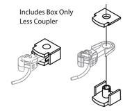 модель Athearn ATH16788 Coupler Box & Cover. 6 шт.