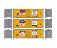 модель Athearn ATH67487 40' Modernized Box. Принадлежность UP. 3 шт.