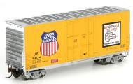 модель Athearn ATH76622  40' американский четырехосный товарный вагон увеличенной высоты. Принадлежность UP #518124. Подобные вагоны использовались с 60-х годов XX века. Фото из каталога