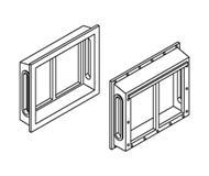 модель Athearn ATH95350 All-Weather Window Set, 2 Pane/Shallow/Angle. 6 шт.