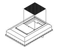 модель Athearn ATHG62288 Winterization Hatch Set, для GP-9/CPR. 3 шт.