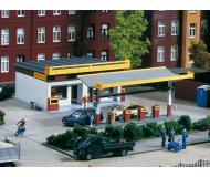 модель Auhagen 11340 Комплекс АЗС SHELL с магазином, размеры 130х10 х60 мм,  130х20х60 мм.