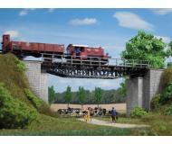 модель Auhagen 11365 Мост железнодорожный деревянно-кирпичный