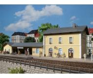 "модель Auhagen 11369 Вокзал ""Plottenstein"" 420x180x130 мм."