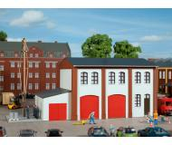 модель Auhagen 11426 Пожарное депо, 200x105x103 мм.