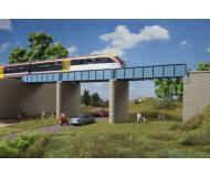 модель Auhagen 11442 Балочный однопутный мост, расширение. 2 пролёта моста, 2 опоры