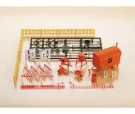 модель Auhagen 12267 Оборудование для строительных площадок. Модель подходит для масштабов H0 и TT.