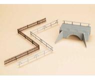 модель Auhagen 42555 Малый каменный мост. Модель подходит для масштабов H0 и TT.