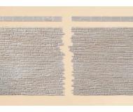модель Auhagen 42649 Каменная стена (2 шт) с плитами. Модель подходит для масштабов H0 и TT.
