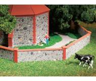 модель Auhagen 42651 Стена из естественного камня. Модель подходит для масштабов H0 и TT.