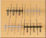 модель Auhagen 42653 Антенны. Модель подходит для масштабов H0 и TT.