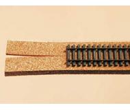 модель Auhagen 43562 Балласт под прямые, пробка. 4 двойных полосы L 2м. (500x18x4мм.)