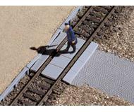 модель Auhagen 43564 Бетонные плиты для перехода через пути, 10 шт.