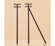 модель Auhagen 43586 Телеграфные столбы высотой 53 мм,12 шт.