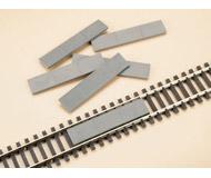 модель Auhagen 48603 Бетонные пластины. Модель подходит для масштабов H0 и TT.