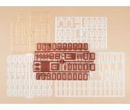 модель Auhagen 48648 Набор рам для дверей 14х28, 15х20 мм,оконных рам 8х19, 7х14, 6х8 мм. для оформления строений.