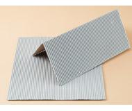 модель Auhagen 50108 Гофрированное железо, 20х20 см. 2 листа. Серый цвет.