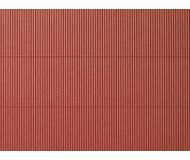 модель Auhagen 52430 Гофрированный стальной лист красно-бурого цвета. Модель подходит для масштабов H0 и TT.