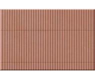 модель Auhagen 52432 Лист профнастила красно-бурого цвета . Модель подходит для масштабов H0 и TT.