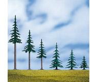 модель Auhagen 71914 Хвойное дерево с основой, 7 см. 5 шт.