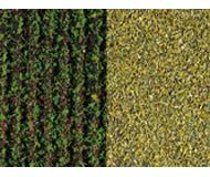 модель Auhagen 76941 Картофельное поле, проросшее, 50х35 см.Засеянное поле, светло-зеленое, 50х35 см.