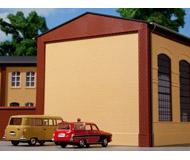 модель Auhagen 80400 Модульная система. Набор фронтоны и угловые столбы: 4шт. -96x19 мм,8шт. -8x8x88 мм. Красные