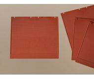 модель Auhagen 80500 Модульная система. Набор стены 2324A: 4шт. -94x86 мм. Красные
