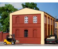 модель Auhagen 80501 Модульная система. Набор стены 2324B: 4шт. -94x86 мм. Красные