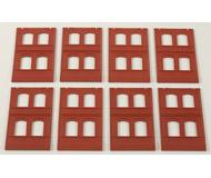 модель Auhagen 80508 Модульная система. Набор стены 2322A (8 шт.) 46x86 мм. Красные