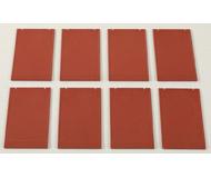 модель Auhagen 80511 Модульная система. Набор стены 2342M (8 шт.) 46x86 мм. Красные
