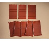 модель Auhagen 80512 Модульная система. Набор стены 2342I (8 шт.) 46x86 мм. Красные