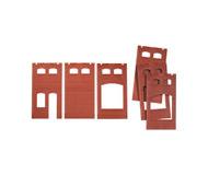 модель Auhagen 80520 Модульная система. Набор: стены 2410A ( 1 шт.) окна А и М,2410B ( 2шт.) окно М, 2410D ( 3 шт.) окна G и M. Размер 46х86 мм.