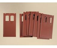 модель Auhagen 80521 Модульная система. Набор: стены 2410G ( 8 шт.) окна B, 46х86 мм.