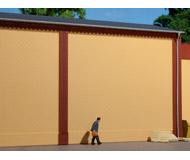 модель Auhagen 80600 Модульная система. Набор стены 2324A (4 шт.) 94x86 мм. Жёлтые