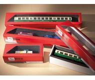 модель Auhagen 99304 Коробка для хранения моделей, размер коробки375x60x50 мм. -10шт.