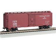 модель Bachmann 15006 40ft. Steam Era Box Car Chesapeake & Ohio