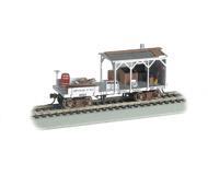 модель Bachmann 16403 Старинный вагон бригады технического обслуживания пути. Принадлежность  Central Pacific