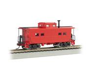 модель Bachmann 16806 Стальной вагон-кабуз в северо-восточном стиле, для отдыха бригады локомотива. Серия Silver. Окрашен, без принадлежности к какой-либо дороге