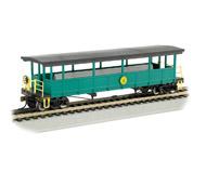 модель Bachmann 17445 Открытый экскурсионный вагон с сидениями. Серия Silver. Принадлежность Cass Scenic Railroad
