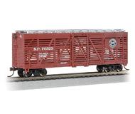 модель Bachmann 18507 Серия Silver. 40' вагон для перевозки животных. Принадлежность Southern Pacific