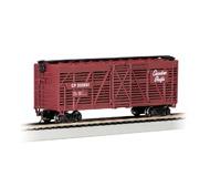 модель Bachmann 18524 Серия Silver. 40' вагон для перевозки животных. Принадлежность Canadian Pacific