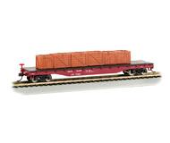 модель Bachmann 18922 50' платформа с грузом. Принадлежность Union Pacific