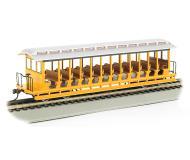 модель Bachmann 19348 Открытый экскурсионный вагон. Окрашен, без принадлежности к какой-либо дороге