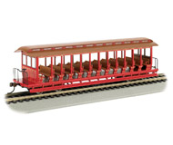 модель Bachmann 19349 Открытый экскурсионный вагон. Окрашен, без принадлежности к какой-либо дороге