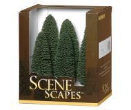 модель Bachmann 32005 Cedar Trees. Серия SceneScapes. Размер от 12.7 до 15.2см. Упаковка 6 шт