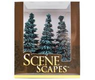 модель Bachmann 32012 Blue Spruce Trees. Серия SceneScapes. Размер от 12.7 до 15.2см. Упаковка 6 шт