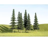 """модель Bachmann 32104 Серия SceneScapes. Готовое к установке на макет дерево. Spruce Trees 3-4"""" Упаковка 9 шт"""