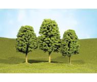 """модель Bachmann 32106 Серия SceneScapes. Готовое к установке на макет дерево. Deciduous Trees 2-3"""". Упаковка 4 шт"""